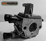 Czyszczenie gaźnika w pilarce spalinowej – objawy nieprawidłowej pracy gaźnika.